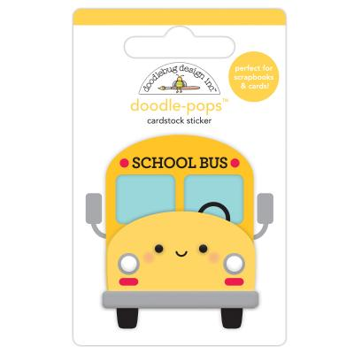 Doodlebugs School Days - School Bus